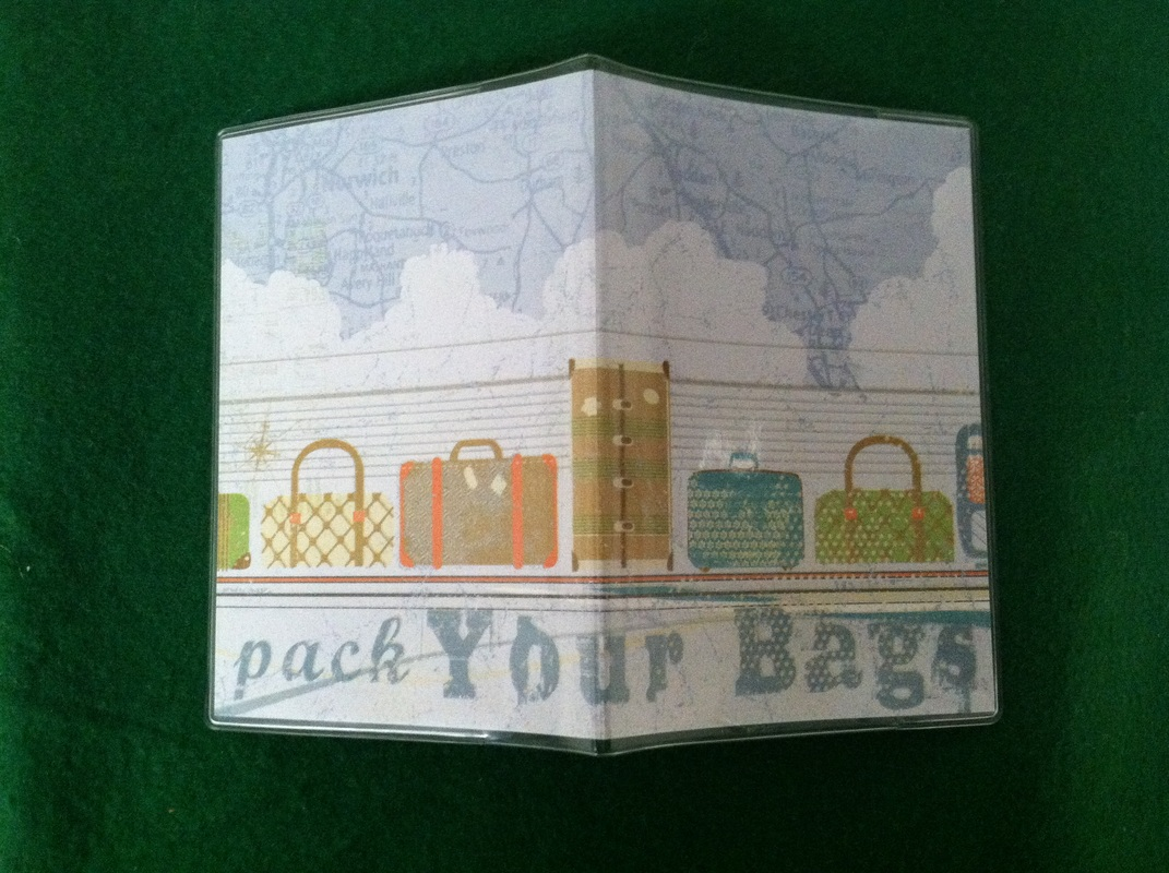Travel Goal Getter Passport Covers for Charity